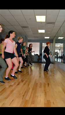 Classes are held every May in honor of National Tap Day.